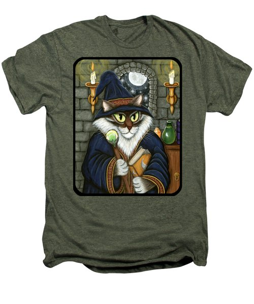 Merlin The Magician Cat Men's Premium T-Shirt