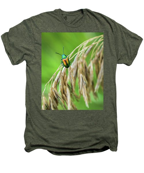 Men's Premium T-Shirt featuring the photograph Mini Metallic Magnificence  by Bill Pevlor