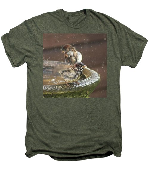 Pass The Towel Please: A House Sparrow Men's Premium T-Shirt
