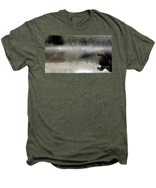 Peaceful Reflection Men's Premium T-Shirt