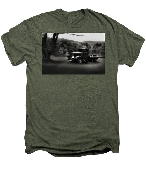 Men's Premium T-Shirt featuring the photograph Relic Truck by Bill Wakeley