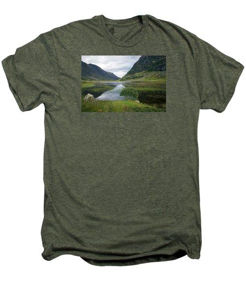 Scottish Tranquility Men's Premium T-Shirt by Dubi Roman
