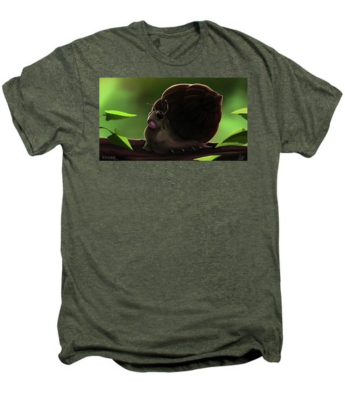 Snail Men's Premium T-Shirt