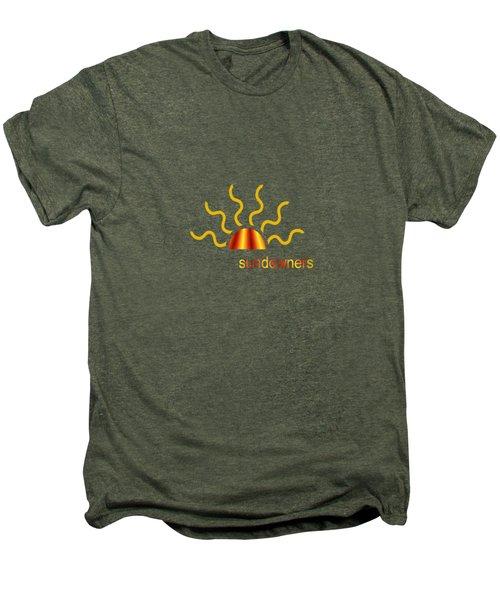 Solitary Seagull Men's Premium T-Shirt by Valerie Anne Kelly