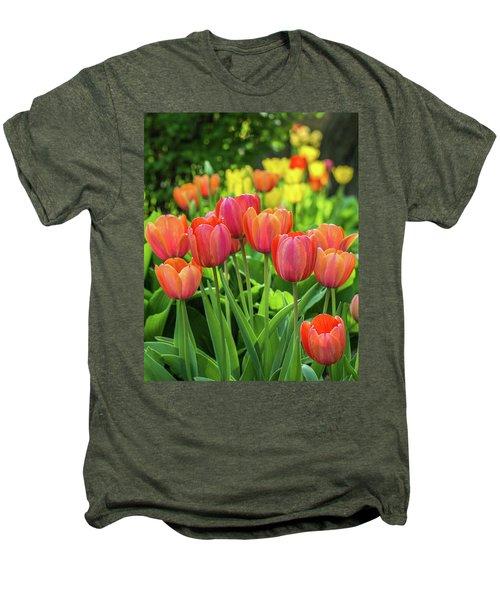 Men's Premium T-Shirt featuring the photograph Splash Of April Color by Bill Pevlor