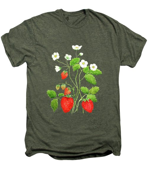 Strawberry  Men's Premium T-Shirt by Color Color