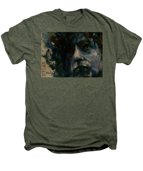 Tagged Up In Blue- Bob Dylan  Men's Premium T-Shirt