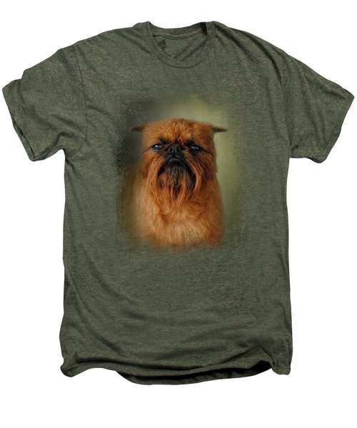 The Brussels Griffon Men's Premium T-Shirt by Jai Johnson