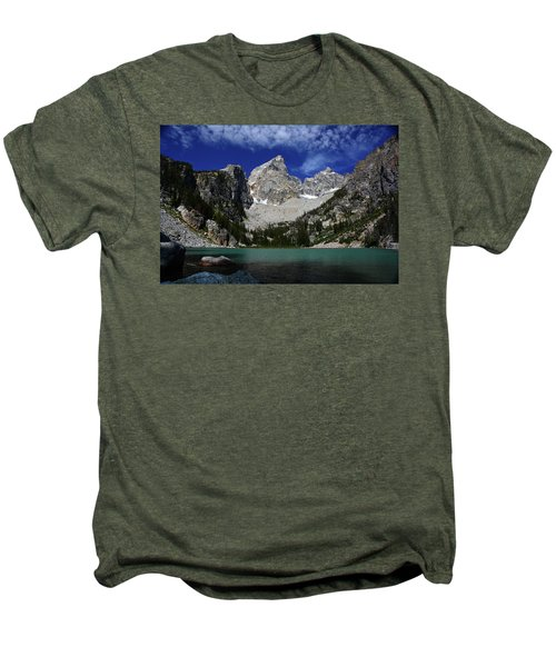 The Grand And Mount Owen From Delta Lake Men's Premium T-Shirt