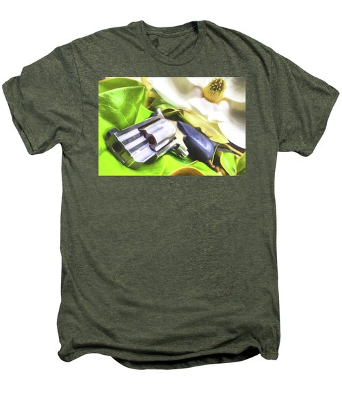 Men's Premium T-Shirt featuring the photograph The Southern Debutante  by JC Findley