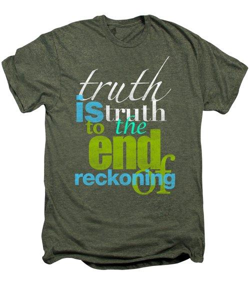 Michael Jackson Truth Is Truth Men's Premium T-Shirt