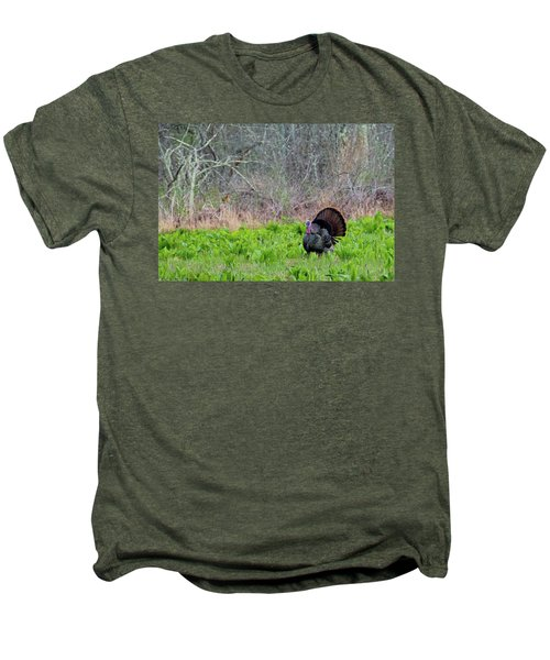 Men's Premium T-Shirt featuring the photograph Turkey And Cabbage by Bill Wakeley