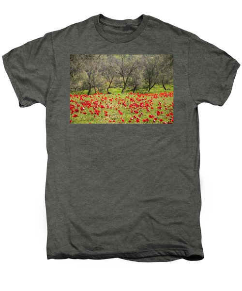At Ruchama Forest Israel Men's Premium T-Shirt