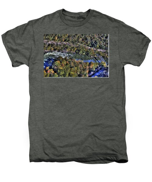 Bridge Over River Men's Premium T-Shirt