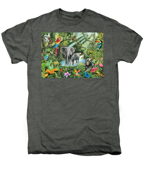 Jungle Men's Premium T-Shirt by Mark Gregory
