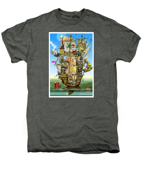 Norah's Ark Men's Premium T-Shirt by Colin Thompson