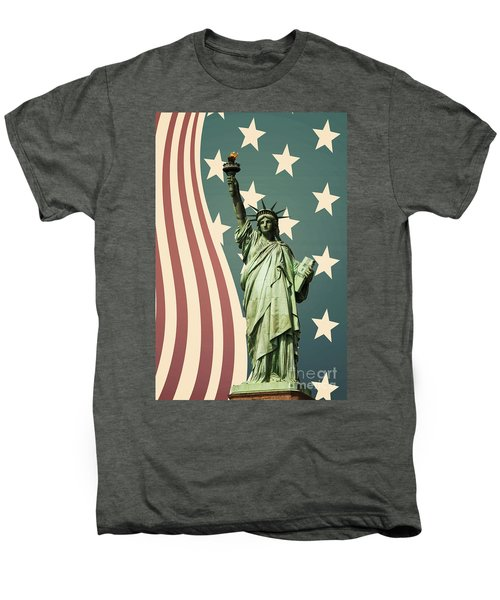 Statue Of Liberty Men's Premium T-Shirt