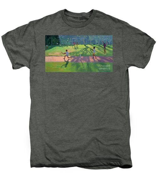Cricket Sri Lanka Men's Premium T-Shirt by Andrew Macara