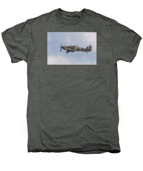 Hurricane Taking Off Men's Premium T-Shirt by Gary Eason