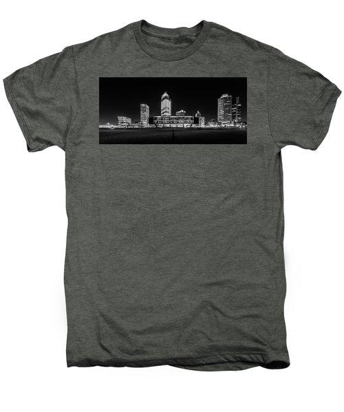 Milwaukee County War Memorial Center Men's Premium T-Shirt by Randy Scherkenbach