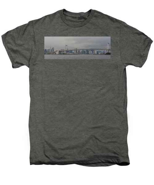 Rainbow Bridge Men's Premium T-Shirt by Megan Martens