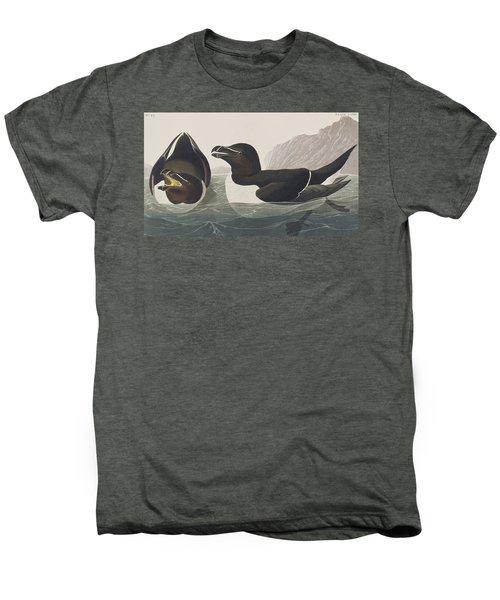 Razor Bill Men's Premium T-Shirt by John James Audubon