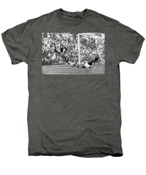 Soccer: World Cup, 1970 Men's Premium T-Shirt by Granger