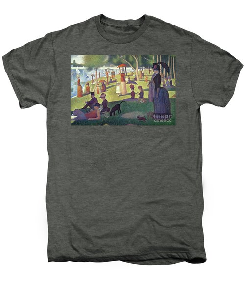 Sunday Afternoon On The Island Of La Grande Jatte Men's Premium T-Shirt