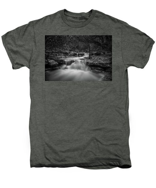 Waterfall In Austin Texas Men's Premium T-Shirt