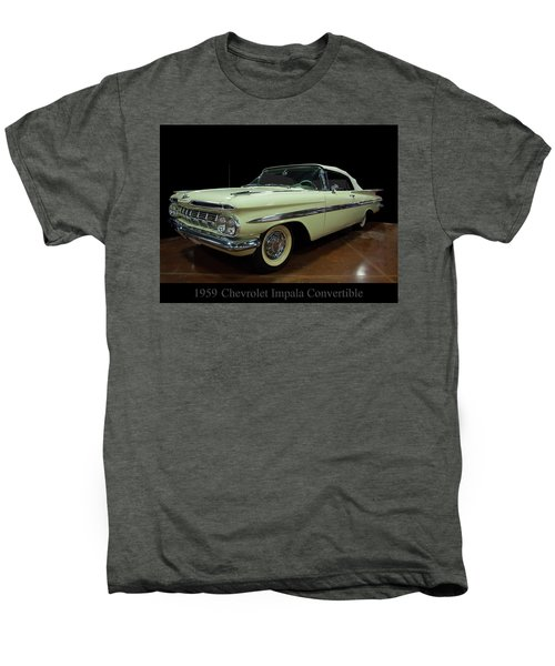 1959 Chevy Impala Convertible Men's Premium T-Shirt