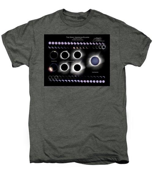 2017 Solar Eclipse Collage Men's Premium T-Shirt