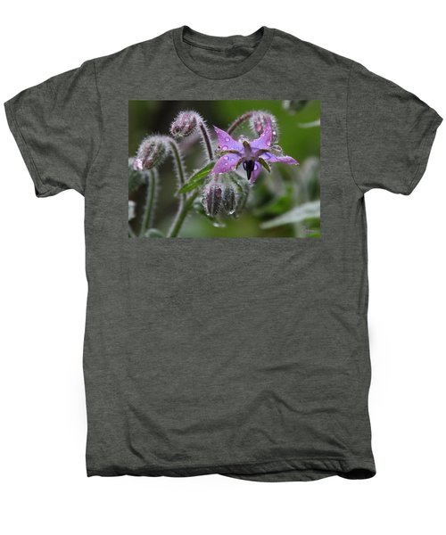 Borage Umbrella Men's Premium T-Shirt