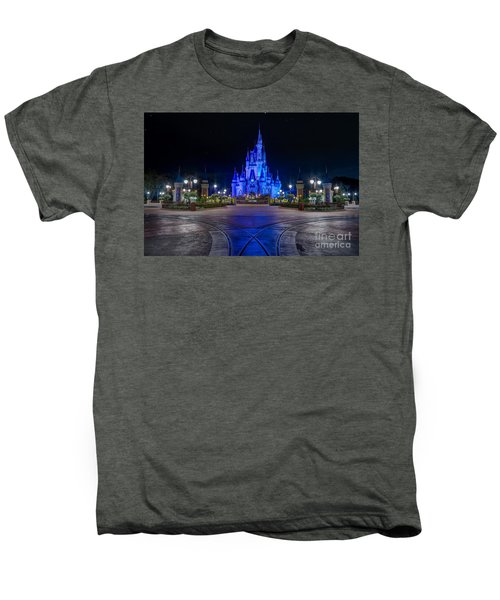 Cinderellas Castle Glow Men's Premium T-Shirt
