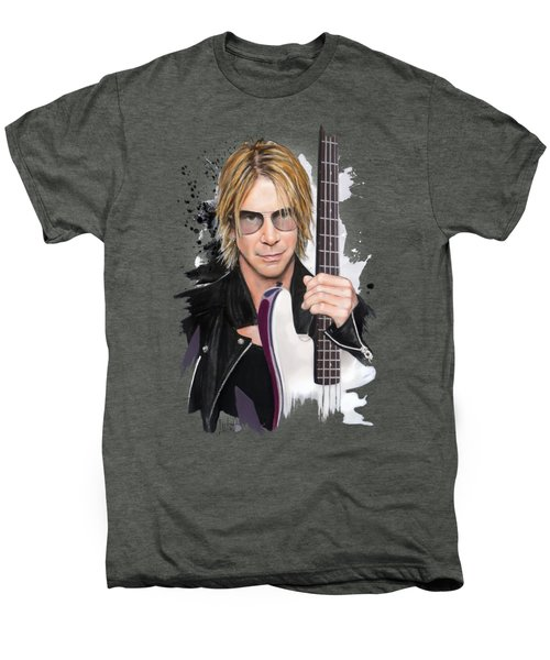 Duff Mckagan Men's Premium T-Shirt by Melanie D
