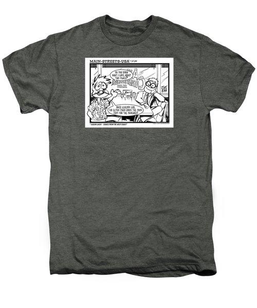 Elton Men's Premium T-Shirt by Joe King