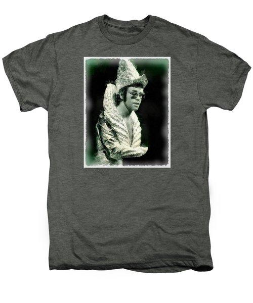 Elton John By John Springfield Men's Premium T-Shirt