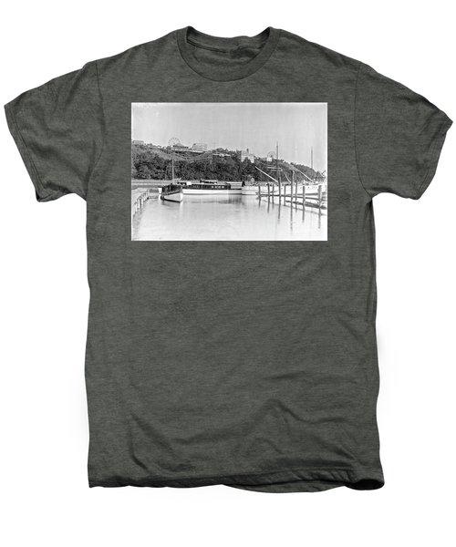 Fort George Amusement Park Men's Premium T-Shirt by Cole Thompson