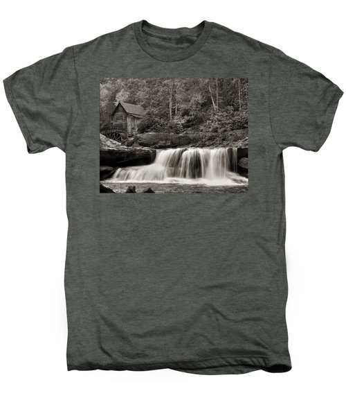Glade Creek Grist Mill Monochrome Men's Premium T-Shirt