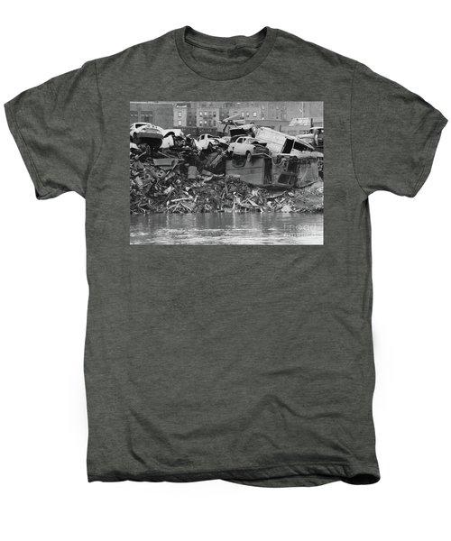 Harlem River Junkyard, 1967 Men's Premium T-Shirt