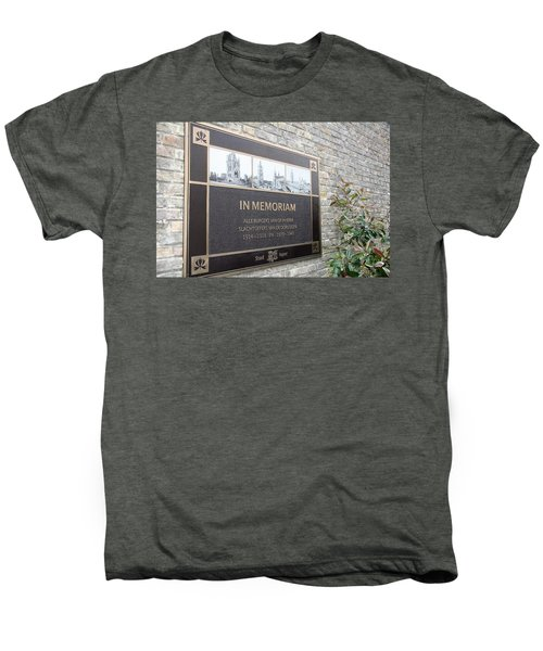 Men's Premium T-Shirt featuring the photograph In Memoriam - Ypres by Travel Pics