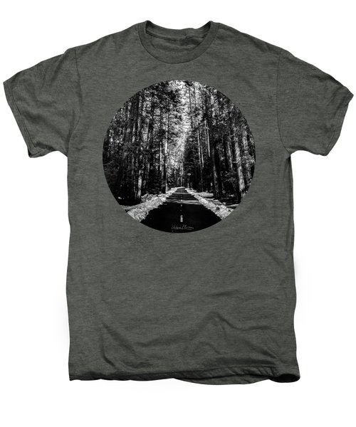 Into The Woods, Black And White Men's Premium T-Shirt
