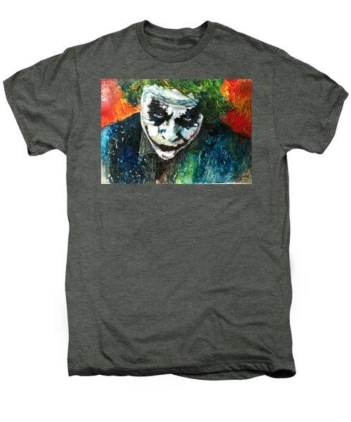 Joker - Heath Ledger Men's Premium T-Shirt