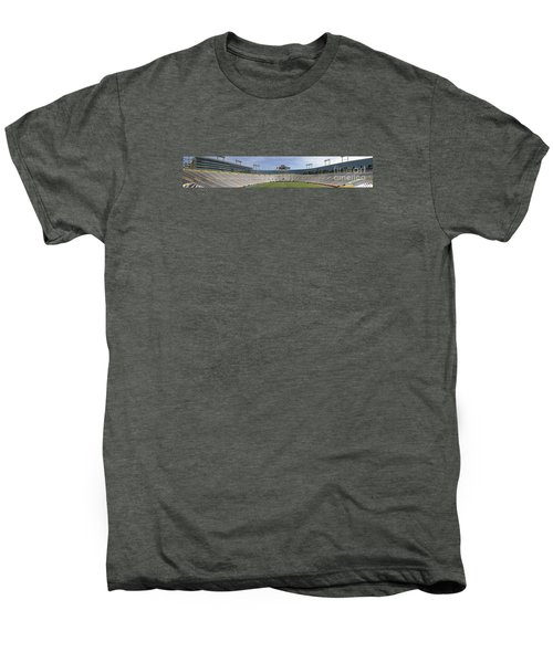 Men's Premium T-Shirt featuring the photograph Lambeau Field Staduim  by Ricky L Jones