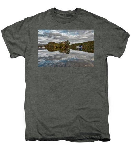 Loch Lomond At Aldochlay Men's Premium T-Shirt by Jeremy Lavender Photography