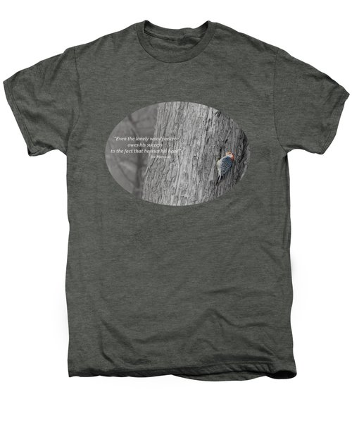 Lonely Woodpecker Men's Premium T-Shirt