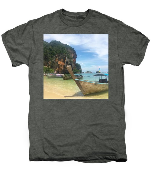 Lounging Longboats Men's Premium T-Shirt