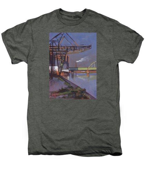 Maastricht Industry Men's Premium T-Shirt by Nop Briex