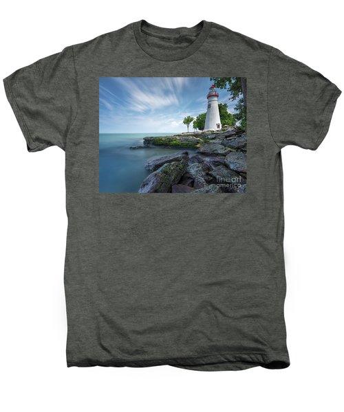 Marblehead Breeze Men's Premium T-Shirt by James Dean