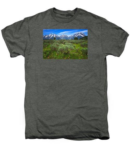 Moran Meadows Men's Premium T-Shirt