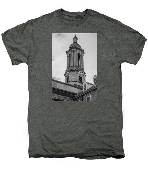 Old Main Tower Penn State Men's Premium T-Shirt by John McGraw